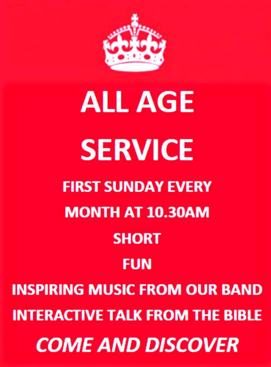 All Age Service poster