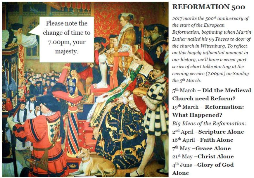 Reformation 500 #2