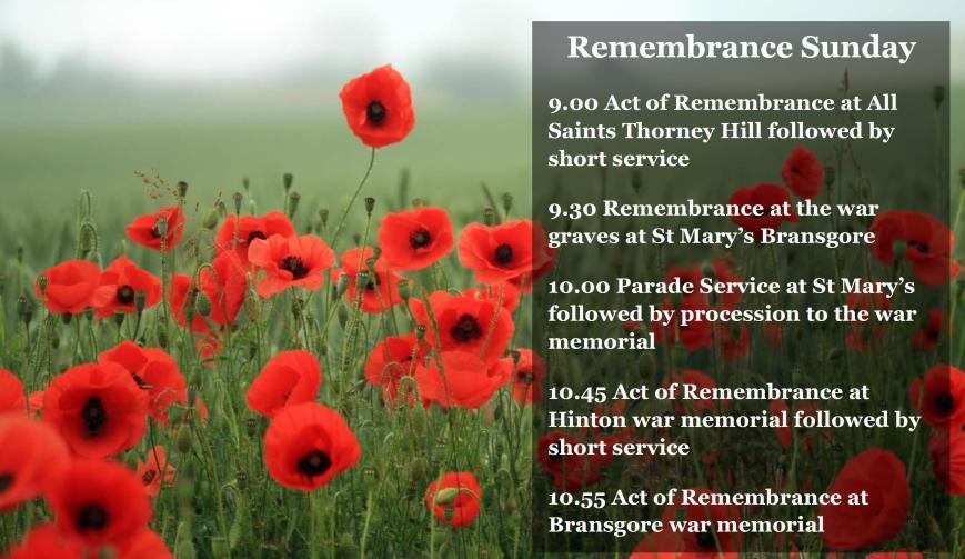 Remembrance 2017