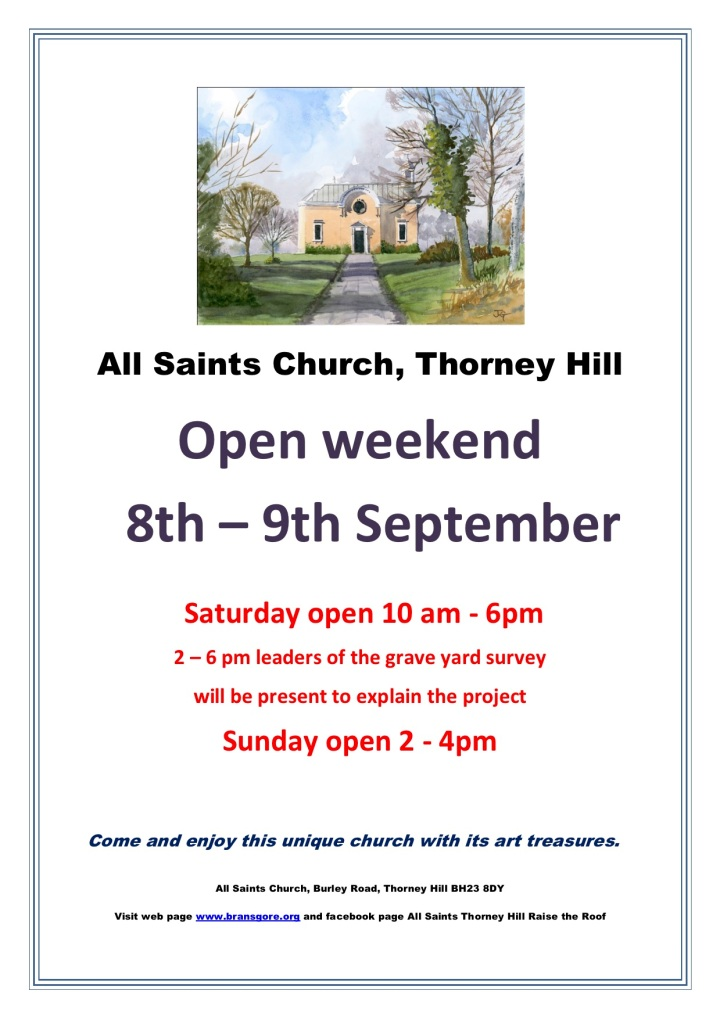 Open weekend September 2016