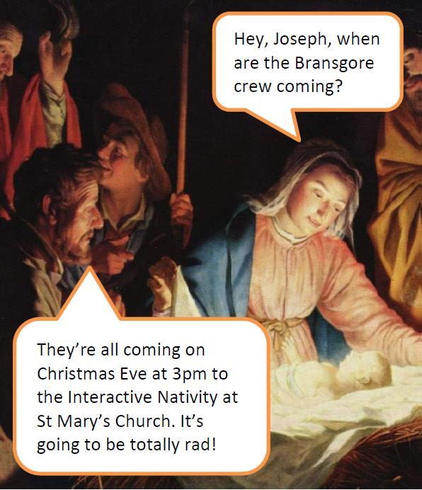 2019 Interactive Nativity